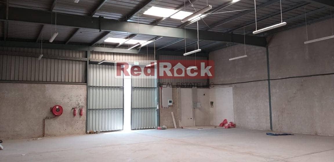 2 Road Facing 2700 Sqft Warehouse in Umm Ramool