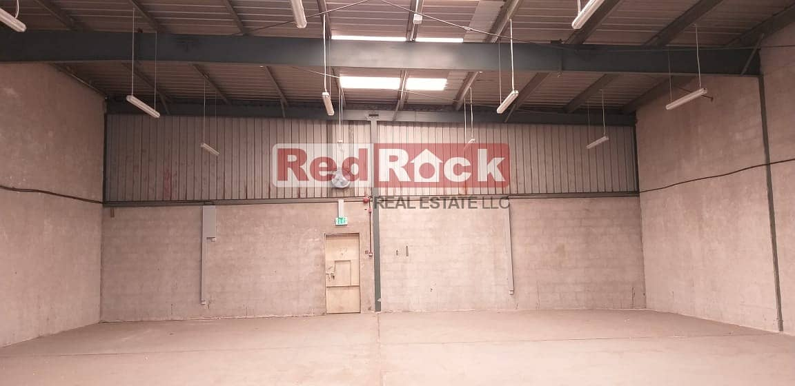 16 Road Facing 2700 Sqft Warehouse in Umm Ramool