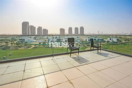 شقة 3 غرف نوم للايجار في داماك هيلز (أكويا من داماك)، دبي - 1 Month Free Furnished 3 Bed | Full Golf View