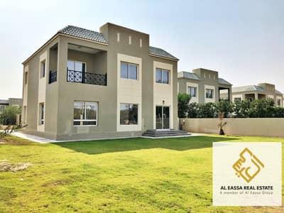6 Bedroom Villa for Rent in Dubailand, Dubai - REAL listing | Landscaped | Huge garden | Vacant 6BR + M