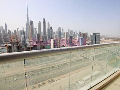 شقة فندقية 2 غرفة نوم للايجار في الخليج التجاري، دبي - Full Burj Khalifa and Canal View|New 2BR Furnished