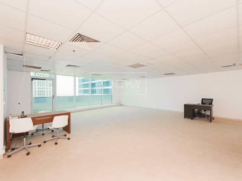 2 High Floor | Fitted | Vacant | Jumeirah Bay X3