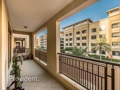 شقة 2 غرفة نوم للايجار في ذا فيوز، دبي - Close to Green Souk | Spacious & Bright 2BR