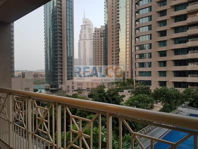 Fully Furnished Two bed with Pool and lake View