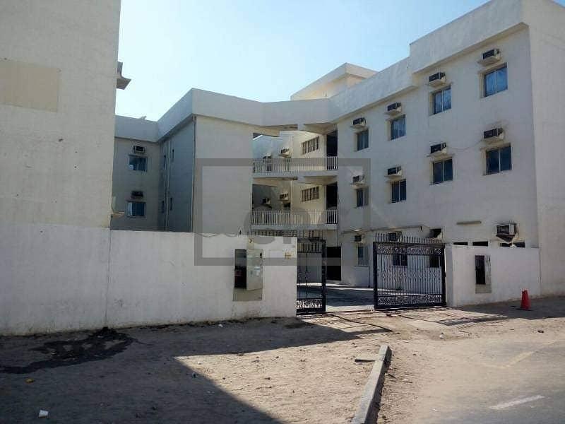 2 Spacious G+2 Labor Camp|109-Rooms|Full facility