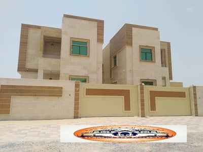 6 Bedroom Villa for Sale in Al Mowaihat, Ajman - Villa for sale very large area European finishes freehold for all nationalities with bank financing