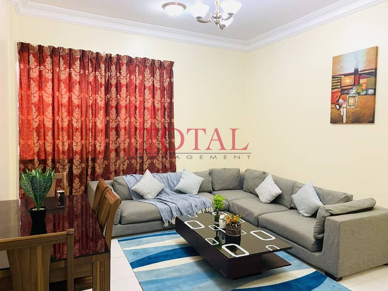Fully Furnished 2 Bedroom   Including FEWA   Without Commission