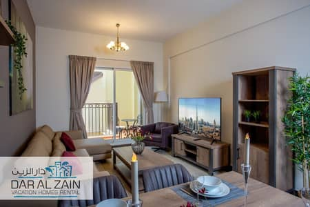 2 Bedroom Apartment for Rent in Jumeirah Village Circle (JVC), Dubai - FULLY FURNISHED TWO BEDROOM  APARTMENT
