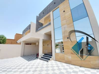 5 Bedroom Villa for Sale in Al Mowaihat, Ajman - For sale luxury modern villa with a finishing a very good location Large building area close to all services