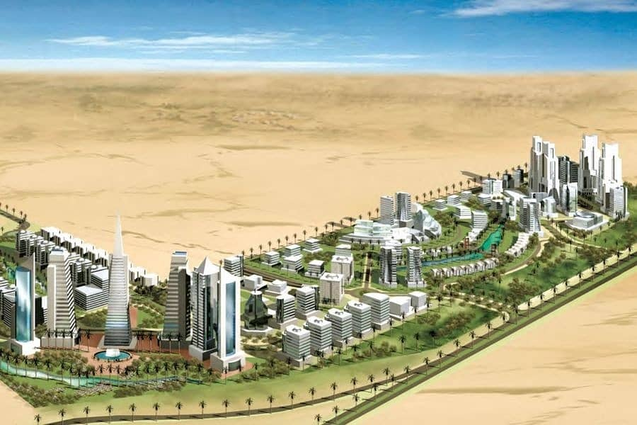 5 For Hospitality Plot (G+14) in Dubailand Residential Complex