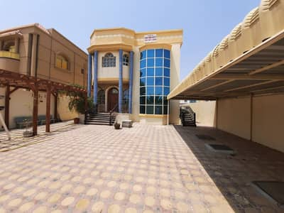 6 Bedroom Villa for Sale in Al Mowaihat, Ajman - Villa for sale with electricity and water with air conditioners without down payment