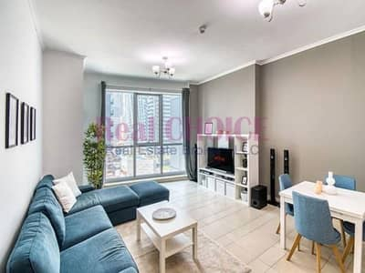 1 Bedroom Flat for Rent in Dubai Marina, Dubai - Well Furnished l Specious Layout I Ready to Move in