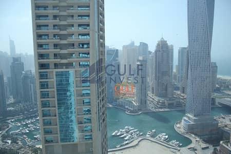 شقة 1 غرفة نوم للبيع في دبي مارينا، دبي - Panoramic windows/Chiller free/1 Bedroom Apartment/MAG218