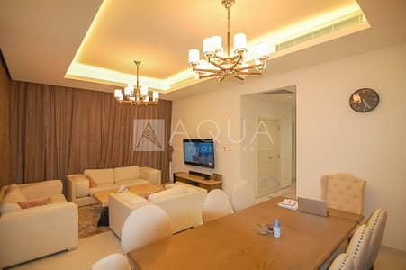 3 Bedroom Villa for Rent in DAMAC Hills (Akoya by DAMAC), Dubai - Furnished and Landscaped 3 BED THM Type