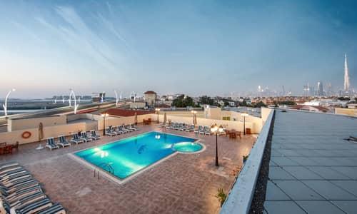 شقة 1 غرفة نوم للايجار في جميرا، دبي - شقة في جميرا 1 جميرا 1 غرف 70000 درهم - 4390684