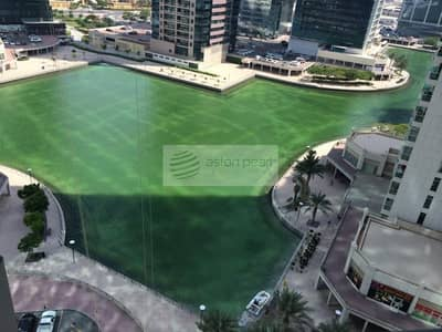 2 Bedroom Apartment for Rent in Jumeirah Lake Towers (JLT), Dubai - Full Lake View 2 BR+Study Included Chiller Charges