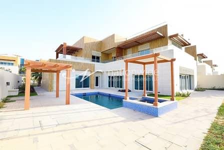 فیلا 6 غرف نوم للايجار في مارينا، أبوظبي - Spacious & Convenient Villa w/ Maid's Room + Pool