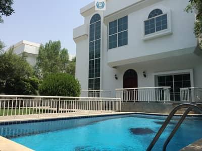 Elegant Five Master Bedroom Villa  With Private  Pool & Garden In  Al Falaj