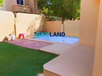 فیلا 5 غرف نوم للايجار في الريف، أبوظبي - Vacant ! 5 Beds+Maid w/ Private Garden and Pool