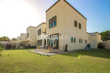 3 Bedroom Villa for Sale in Jumeirah Park, Dubai - Large Corner Plot | Next to Huge Park | Single Row
