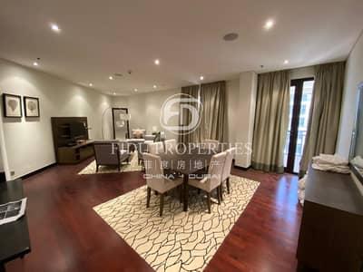 شقة 1 غرفة نوم للايجار في نخلة جميرا، دبي - Brand New | Corner Unit | Sea View | Furnish