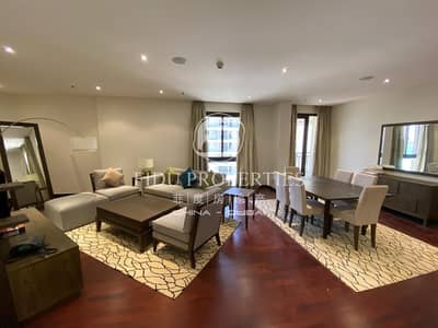 فلیٹ 2 غرفة نوم للايجار في نخلة جميرا، دبي - Corner Unit | Panoramic Sea View | Furnished