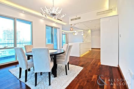 3 Bedroom Flat for Sale in Dubai Marina, Dubai - Upgraded 3 Bed | Full Marina View | Vacant