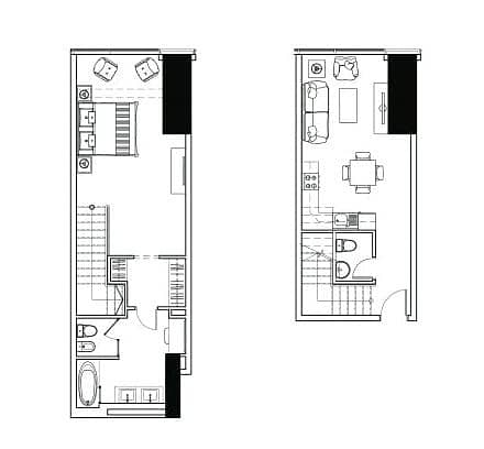 10 One Bedroom | Duplex | Vacant On Transfer