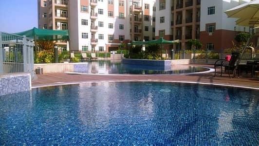 1BR w/balcony pool view 48k only...