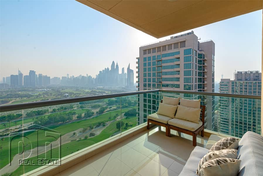 Unbelievable views from this furnished 2 bed apartment