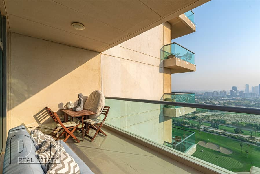 2 Unbelievable views from this furnished 2 bed apartment