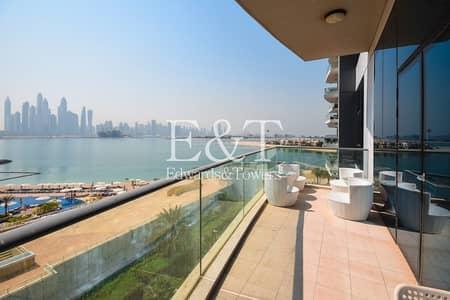 فلیٹ 1 غرفة نوم للبيع في نخلة جميرا، دبي - Vacant On Transfer | Superior Sea View | PJ