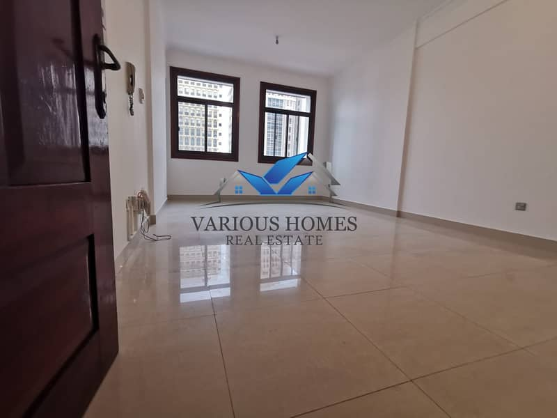 2 Elegant Quality 02 Bedroom Hall Apartment with Nice Wardrobes at Airport Road close Sheikh Khalifa Medical Center