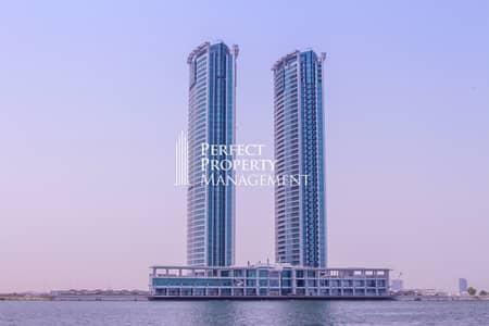 فلیٹ 1 غرفة نوم للايجار في دفن النخیل، رأس الخيمة - 1 Bedroom Apartment for rent in Julphar Tower