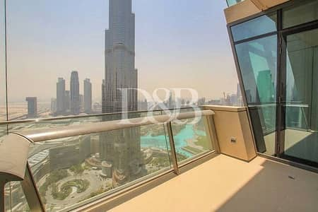 2 Bedroom Apartment for Rent in Downtown Dubai, Dubai - Full Burj And Fountain Views | Vacant On June 19