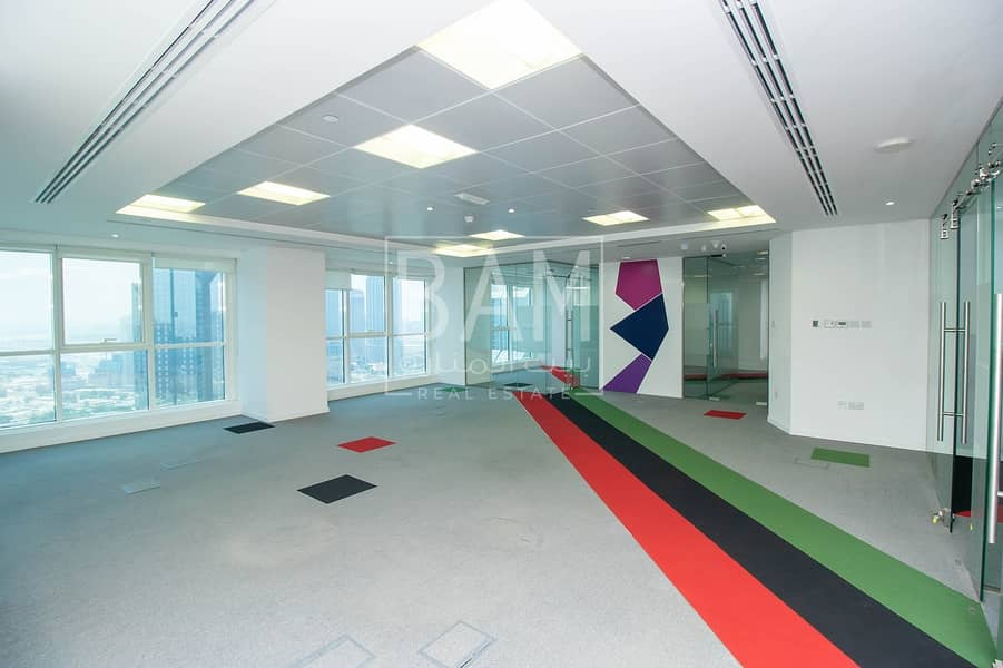 2  Semi Fitted office l in Sheikh Zayed Road