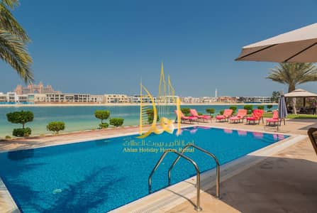 6 Bedroom Villa for Rent in Palm Jumeirah, Dubai - BLUE LAGOON SIGNATURE 6BR BEACH VILLA