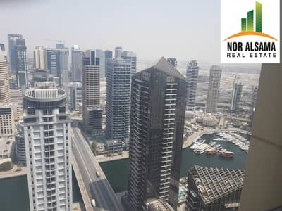 2 Bedroom Flat for Rent in Jumeirah Beach Residence (JBR), Dubai - Extra Large with Marina View 2 Bedroom For Rent JBR