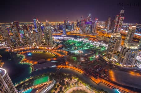 2 Bedroom Flat for Rent in Downtown Dubai, Dubai - Two Bed | Full Fountain View I Exclusive