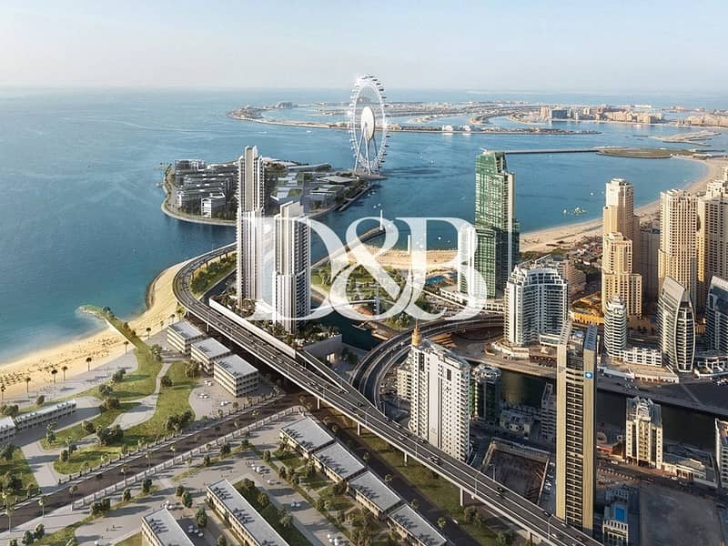 2 Rare Resale | Full Sea and Marina View