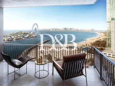 2 Bedroom Flat for Sale in Dubai Marina, Dubai - Rare Resale | Full Sea and Marina View