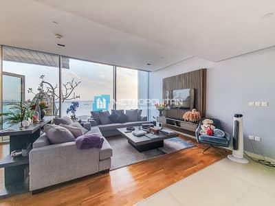 فلیٹ 2 غرفة نوم للبيع في جزيرة بلوواترز، دبي - Beautiful sea view I High floor 2 bedroom for Sale