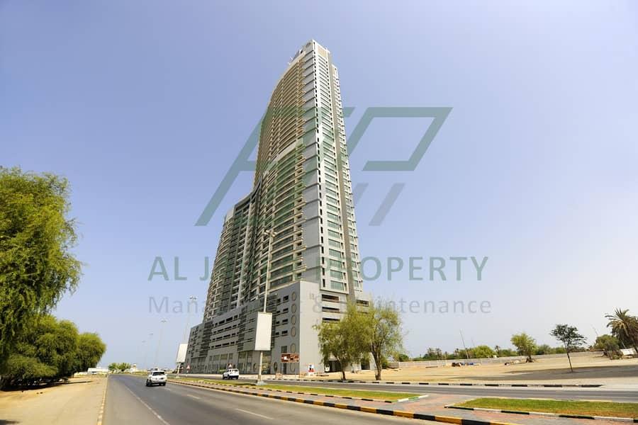 شقة في برج الجابر 2 غرف 52000 درهم - 4631732