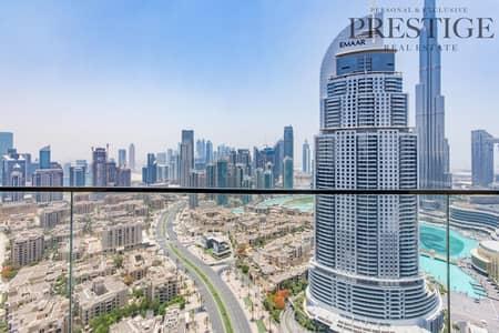 3 Bed    Boulevard Point Tower   New   Burj Khalifa View