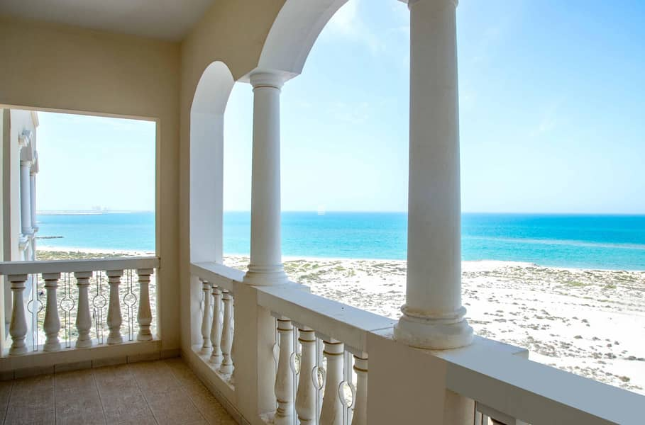 No Commissions & 1 month Free  Stunning Sea View One Bedroom |12 cheques