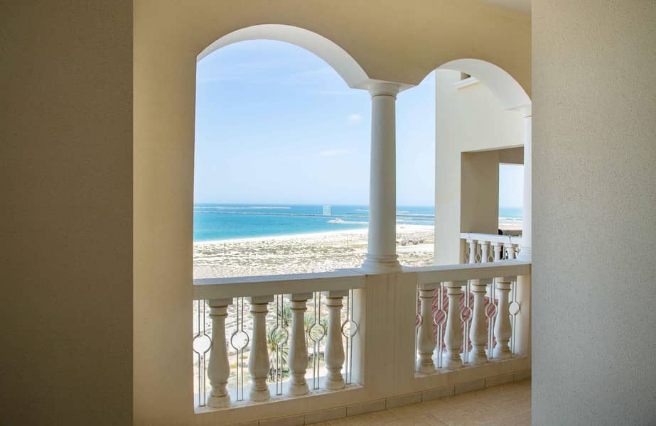 2 No Commissions & 1 month Free  Stunning Sea View One Bedroom |12 cheques