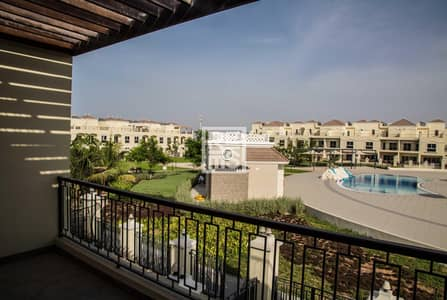 4 Bedroom Villa for Sale in Al Hamra Village, Ras Al Khaimah - 4BR Outstanding Pool View Bayti Townhouse