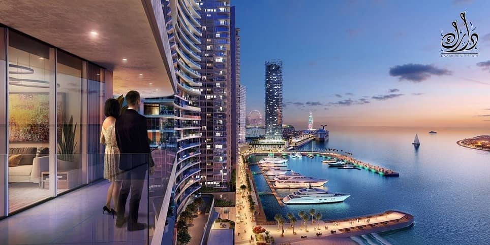 2 own burj khalifa view 79k only down payment in MBR city