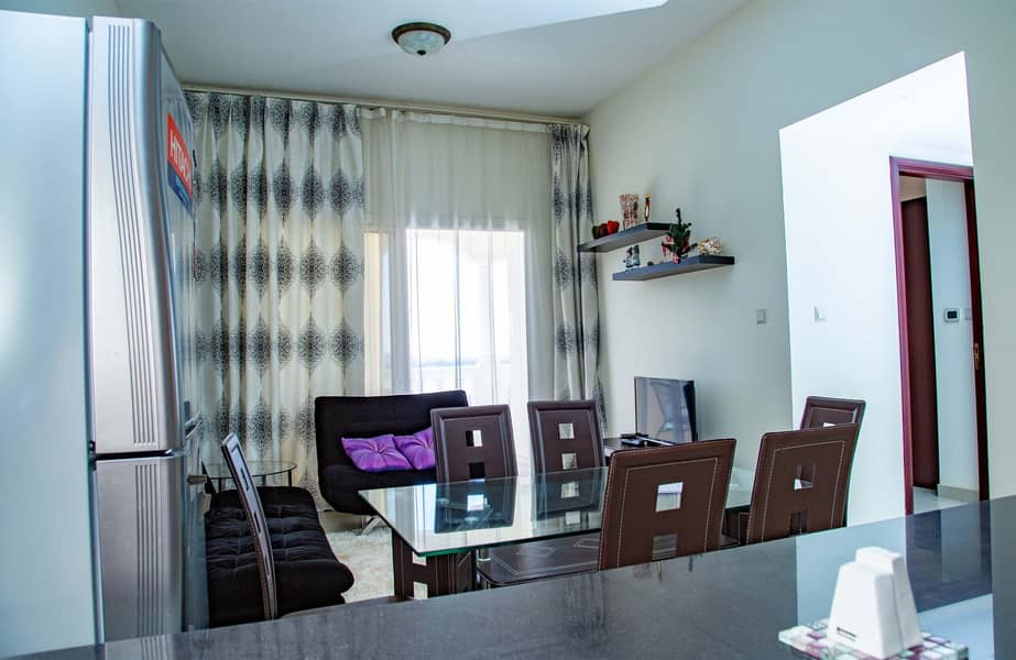 2 Best Price for furnished 1BR in Royal Breeze!