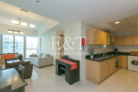 1 Bedroom Apartment for Rent in Dubai Marina, Dubai - Exclusive: Spacious and Furnished | Multiple Chqs